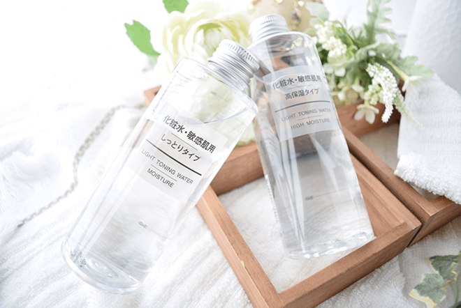 Nước hoa hồng Muji Light Toning Water High Moisture