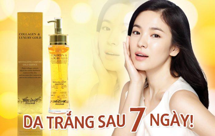 Tinh chất dưỡng da Collagen & Luxury Gold cao cấp 3w Clinic