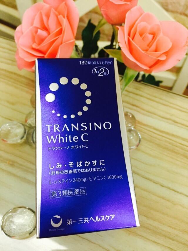 Viên uống trắng da Transino white C 180 viên mẫu mới 2017