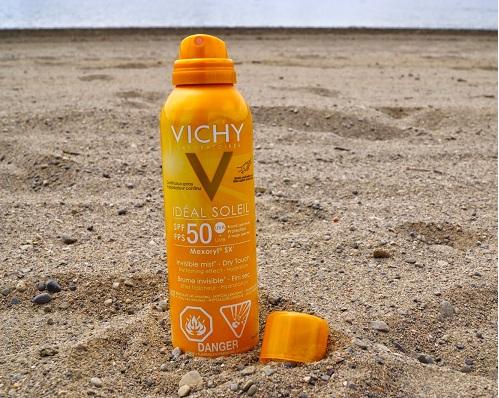 Kem chống nắng dạng xịt Vichy Ideal Soleil SPF 50 200ml