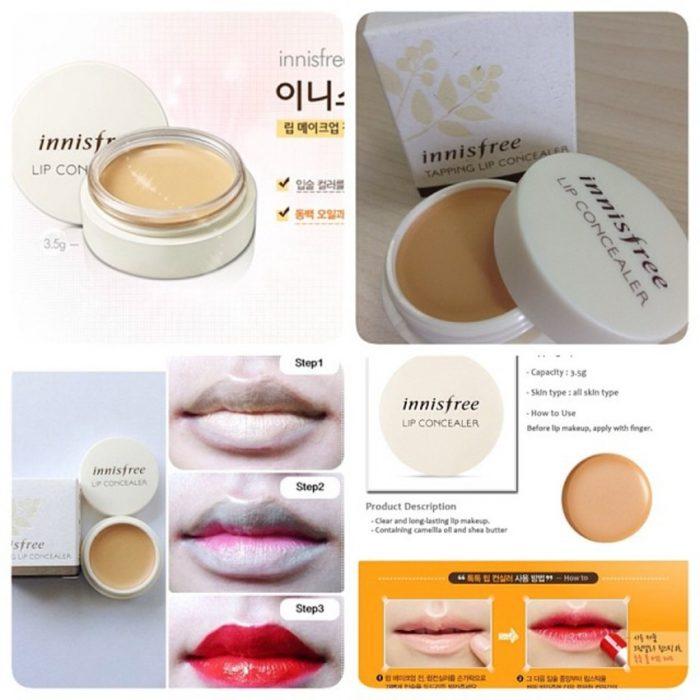 Kem che khuyết điểm môi Tapping Lip Concealer Innisfree