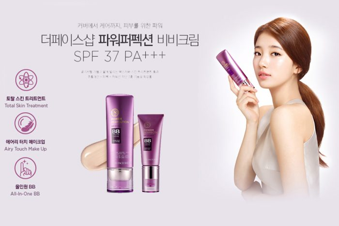 Kem Nền BB The Face Shop Face it power perfection BB cream SPF37 PA++