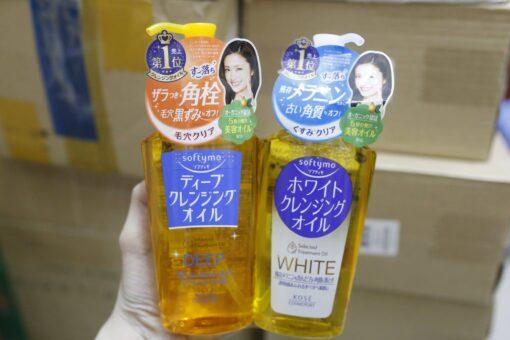 Dầu tẩy trang Kose softymo Deep Cleansing Oil của Nhật 230ml