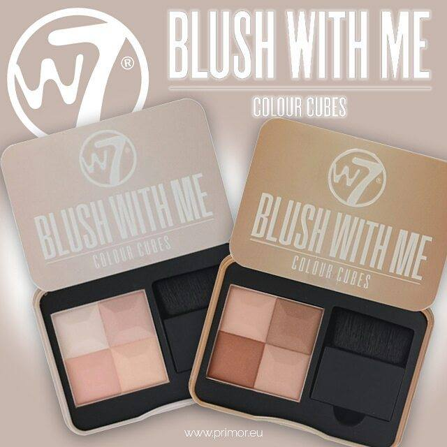 Phấn má W7 Blush With Me