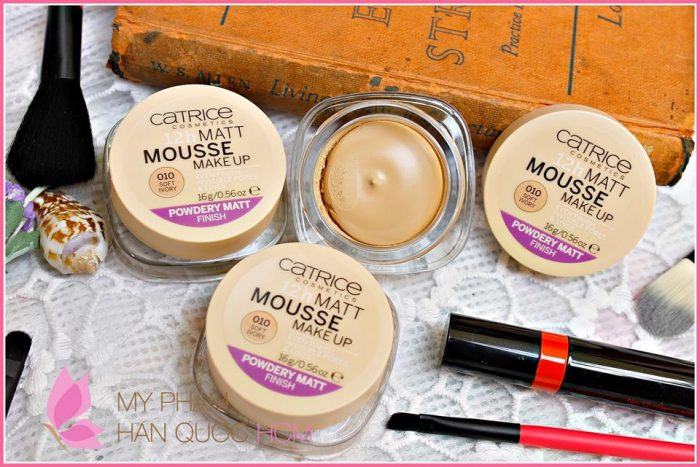 Phấn tươi Catrice 12h Matt Mousse Make Up