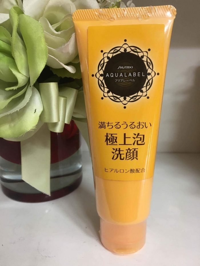 Sữa rửa mặt Shiseido Aqualabel White Clear Foam 110g