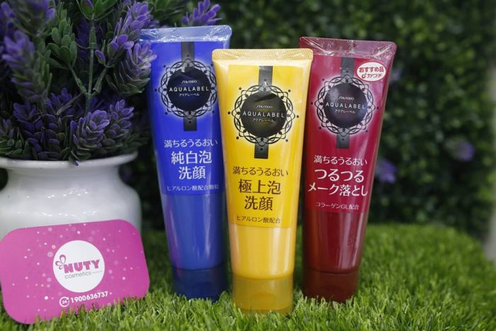 Sữa rửa mặt Shiseido Aqualabel White Clear Foam 130g