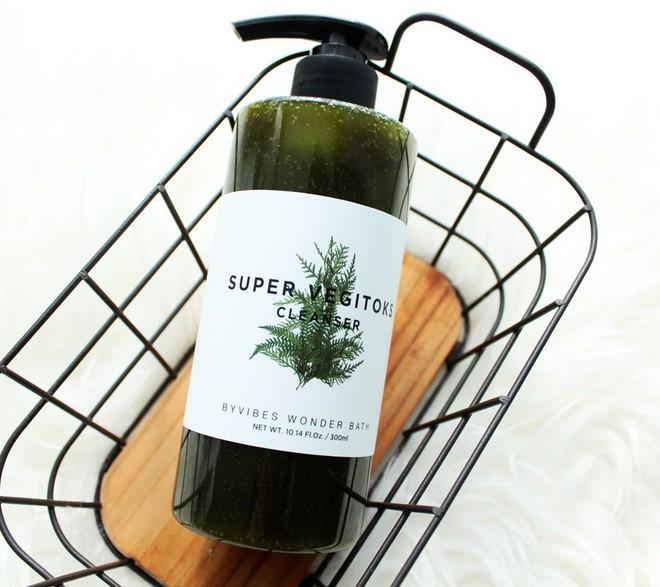 Sữa rửa mặt thải độc rau củ Super Vegitoks Cleanser