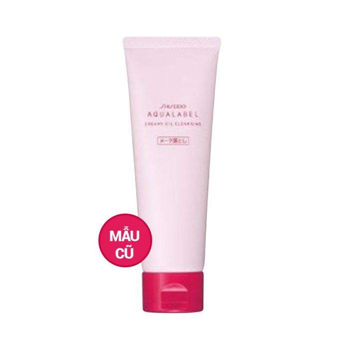 Kem tẩy trang Shiseido Aqualabel creamy oil cleansing