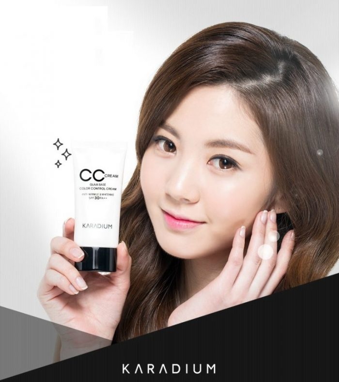 KEM NỀN CC Cream Karadium GLAM BASE COLOR CONTROL CREAM SPF30 PA