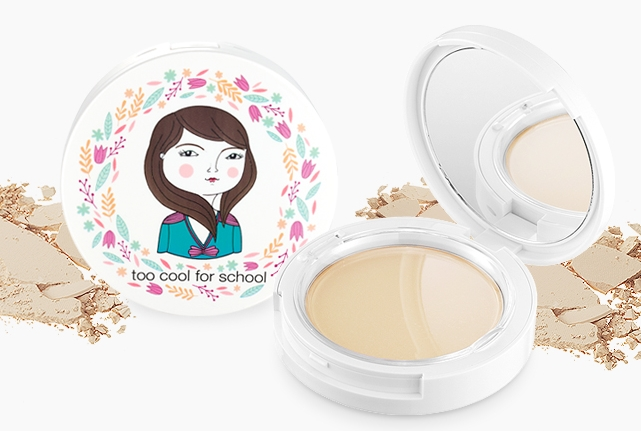 Phấn phủ nén siêu mịn Too Cool For School Photoready Pact