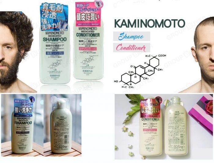 Dầu gội mọc tóc Kaminomoto của Nhật