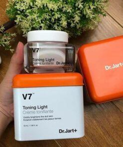 Kem dưỡng trắng trị thâm nám Dr.Jart+ V7 Toning Light