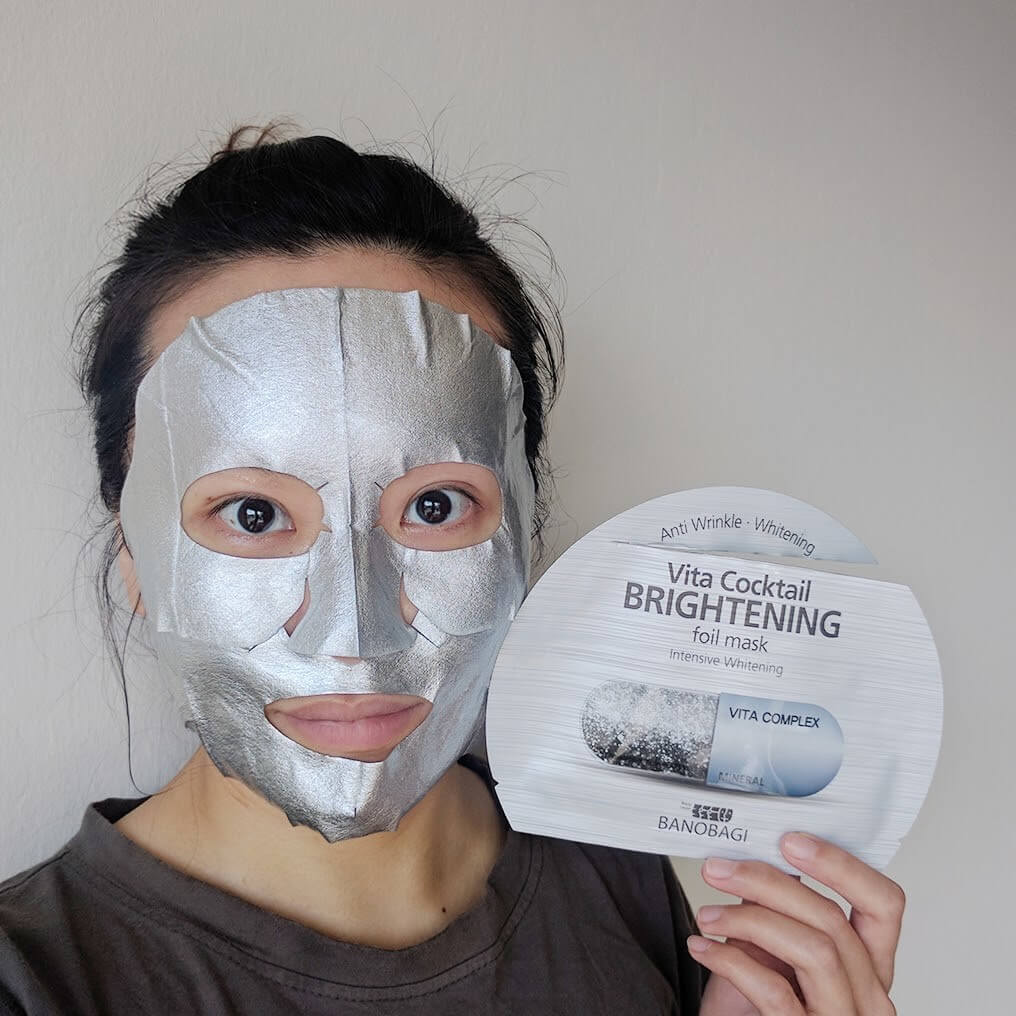 Mặt nạ Banobagi Vita Cocktail Foil Mask chống lão hóa】