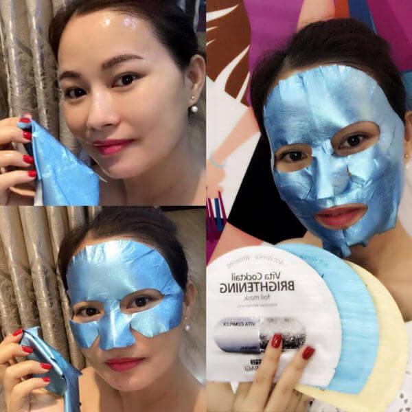 Mặt nạ Banobagi Vita Cocktail Foil Mask chống lão hóa