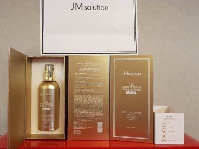tinh chất dưỡng da JM Solution 24K Gold Premium Peptide All In One Special