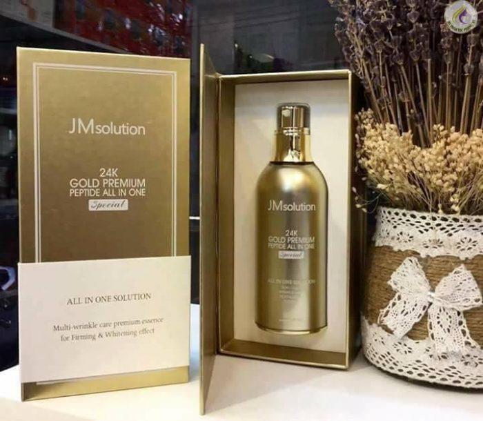 tinh chất dưỡng da JM Solution 24K Gold Premium Peptide All In One Special