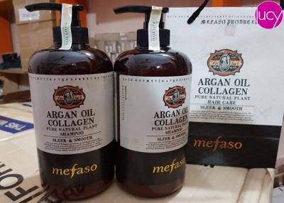 Cặp dầu gội xả Argan Oil Collagen Mefaso