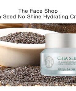 Kem Dưỡng Ẩm Chia Seed No Shine Hydrating Cream TheFaceShop