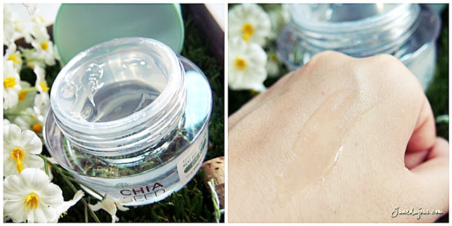 Kem Dưỡng Ẩm The Face Shop Chia Seed No Shine Hydrating Cream chống lão hóa