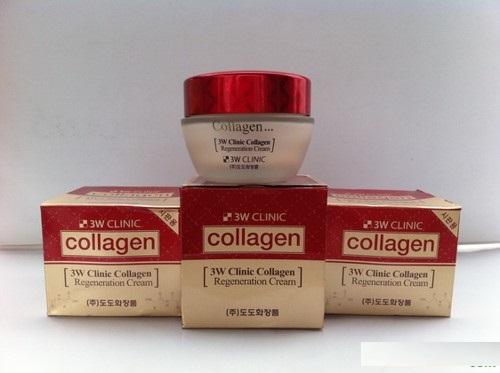 Kem dưỡng chống lão hóa da 3W Clinic Collagen Regeneration Cream