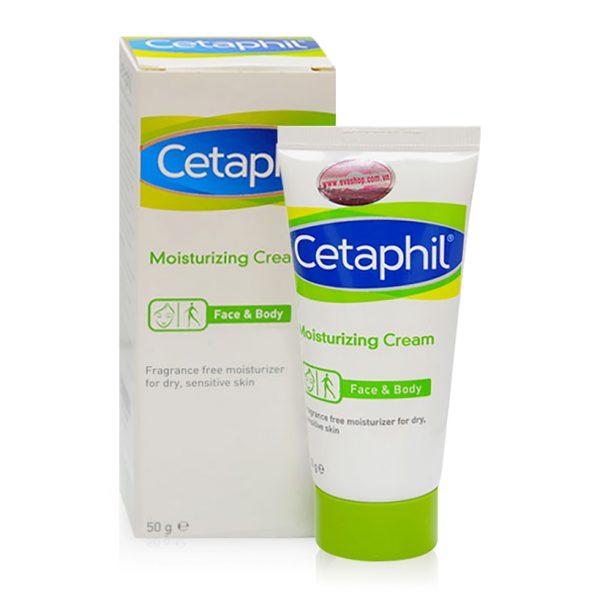 Kem dưỡng ẩm Cetaphil Moisturizing Cream chính hãng Mỹ