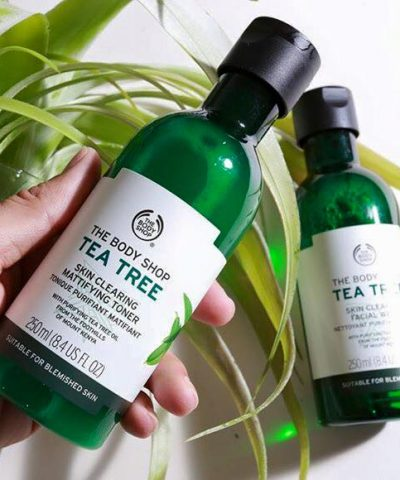 Nước hoa hồng The Body Shop Tea Tree Skin Clearing Toner