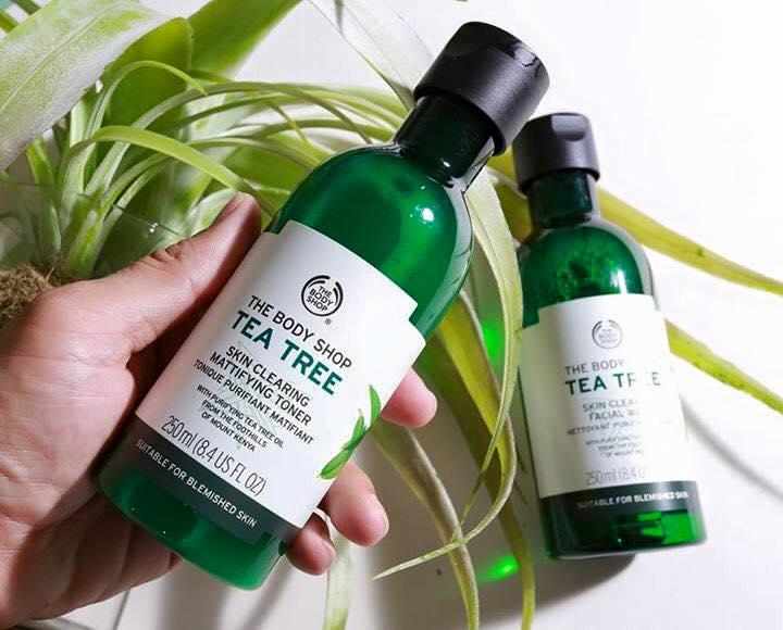 Nuoc Hoa Hong The Body Shop Tea Tree Skin Clearing Toner