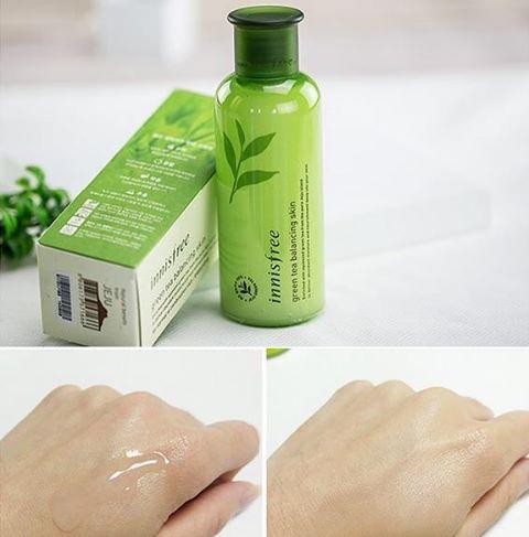 Nước hoa hồng trà xanh Innisfree Green Tea Balancing Skin Innisfree