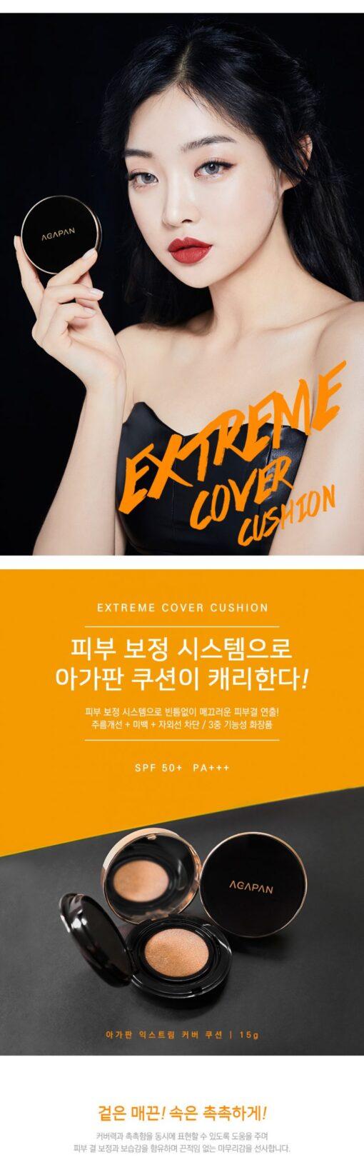 Phấn nước Agapan Extreme Cover Cushion