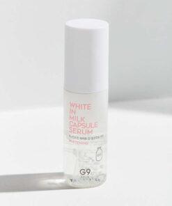 Serum dưỡng da G9 Skin White In Milk Capsule Serum