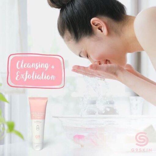 Sữa rửa mặt trắng da G9 Skin
