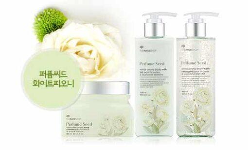 Sữa tắm nước hoa The Face Shop Perfume Seed trắng da