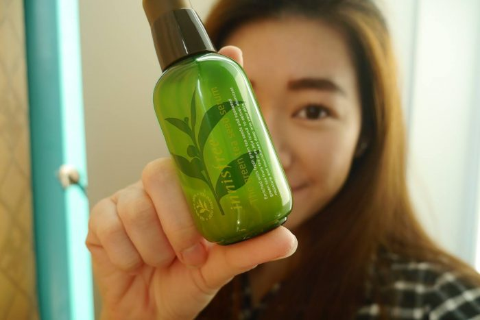 Tinh Chất Dưỡng Da Innisfree The Green Tea Seed Serum 80ml