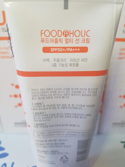 Kem chống nắng đa năng Sun multi sun cream Food holic
