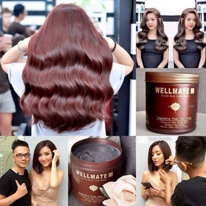 Kem ủ tóc siêu mượt Wellmate