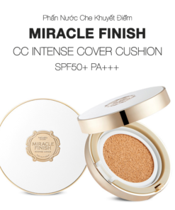 Phấn nước CC Cushion Intense Cover SPF50+ PA+++ The Face Shop