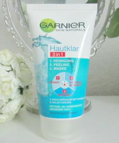 Sữa rửa mặt Garnier Hautklar 3 in