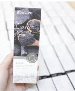 Sữa Rửa Mặt Than Hoạt Tính 3W Clicnic Hàn Quốc