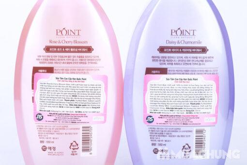 Sữa tắm Hàn Quốc Point Clean Naturals