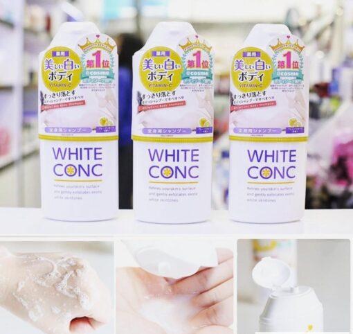 Sữa tắm trắng da White Conc Body Vitamin C