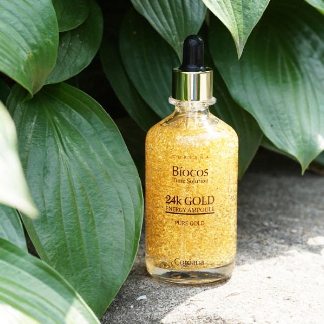 Tinh Chất Vàng Biocos 24k Gold Energy Ampoule