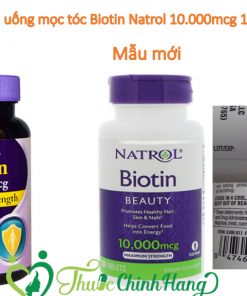 Viên Uống Natrol Biotin 10000mcg Maximum Strength