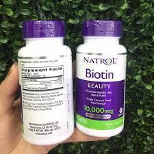 Viên Uống Natrol Biotin 10000mcg Maximum Strength