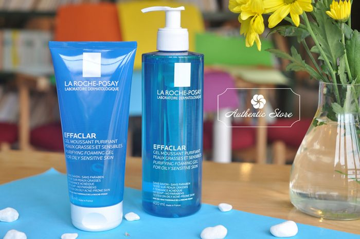 Sữa rửa mặt La Roche Posay EFFACLAR Gel moussant Purifiant