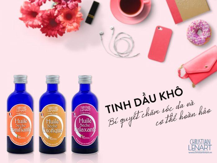 Tinh Dầu Khô Christian Lenart Huile Sèche
