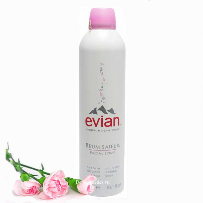 Xịt khoáng thiên nhiên Evian Brumisateur