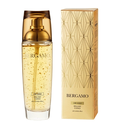 Tinh Chất Serum Bergamo 24k Gold Brilliant & white vita luminant Essence