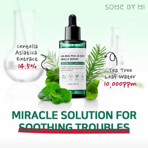 Serum Trị Mụn Some By Mi AHA BHA PHA 30 Days Miracle