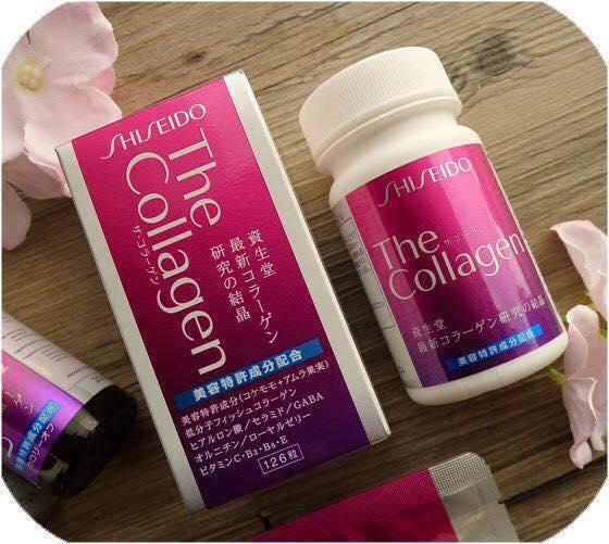 Viên uống The Collagen Shiseido Nhật 126 viên trắng da trị nám hiệu quả